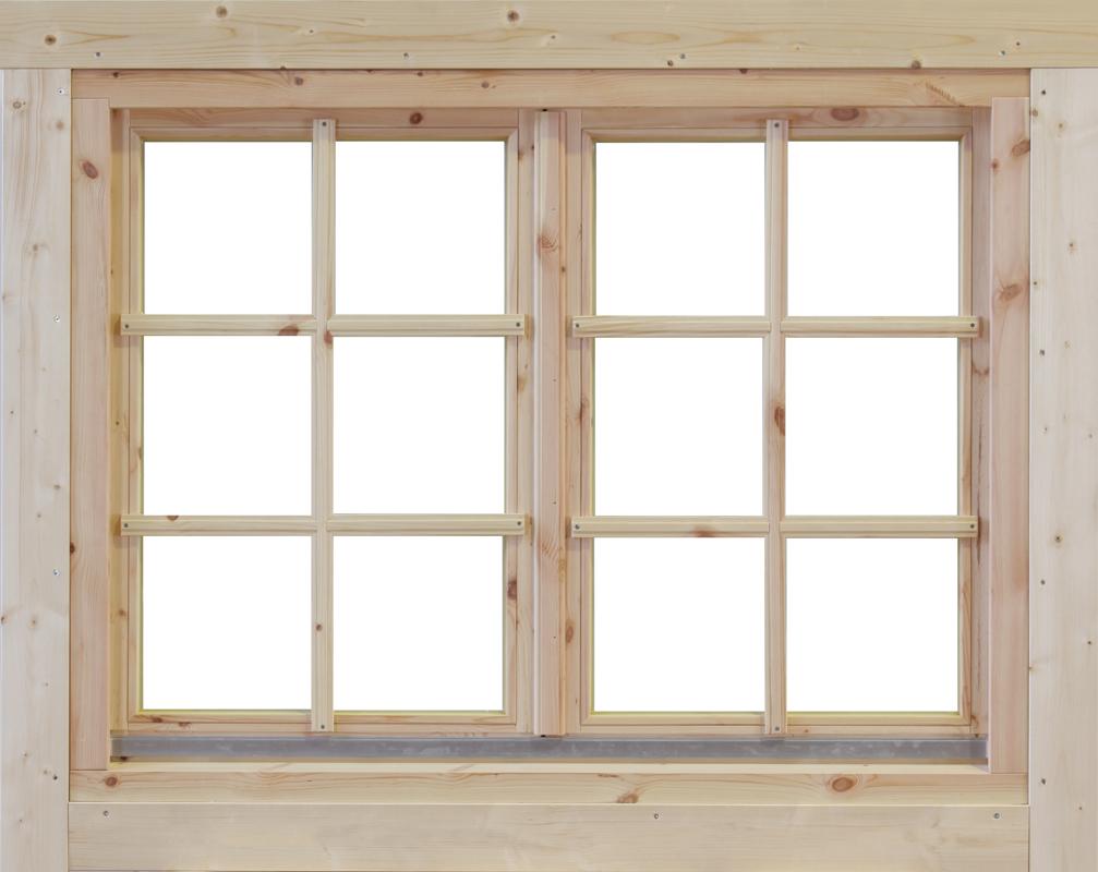 Bekannt Blockhaus Fenster - vom Gartenhaus-Fachhändler HR97