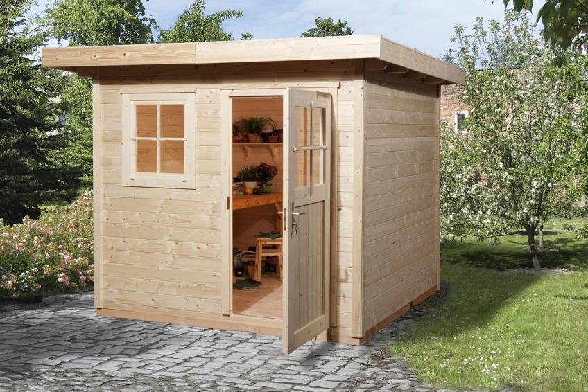 gartenhaus weka gartenhaus 170 holz haus bausatz. Black Bedroom Furniture Sets. Home Design Ideas