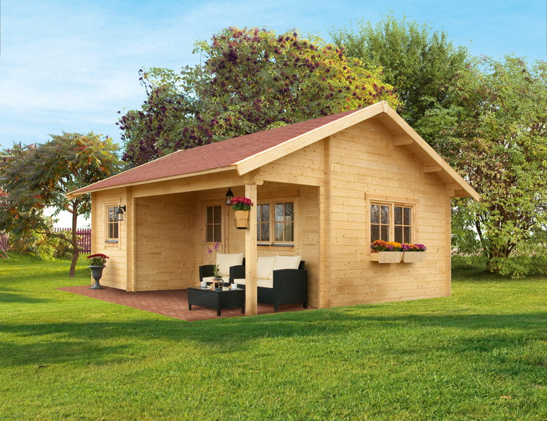 gartenhaus skanholz ontario ferienhaus berdachter eingang online shop g nstig angebot. Black Bedroom Furniture Sets. Home Design Ideas