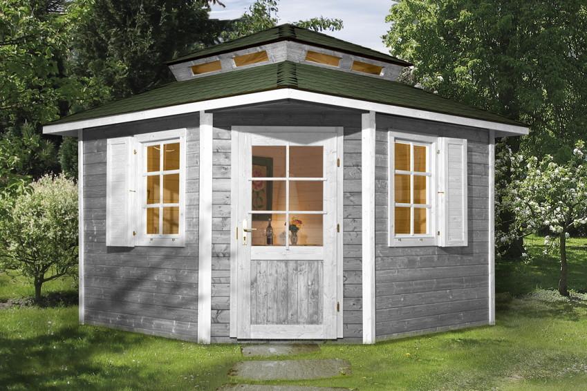 gartenhaus weka gartenhaus 149 5 eck haus holz haus. Black Bedroom Furniture Sets. Home Design Ideas