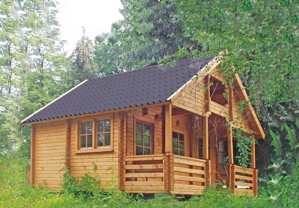 wochenend haus wolff sauerland holz ferienhaus bausatz schlafboden tinyhouse vom gartenhaus. Black Bedroom Furniture Sets. Home Design Ideas