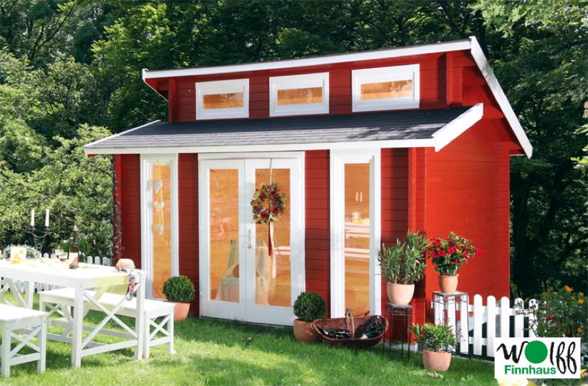 blockhaus dachform vom gartenhaus fachh ndler. Black Bedroom Furniture Sets. Home Design Ideas