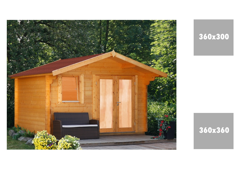 gartenhaus wolff oslo 34 modern holz gartenhaus mit. Black Bedroom Furniture Sets. Home Design Ideas