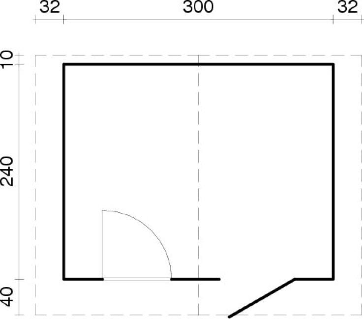 gartenhaus palmako robin gertehaus online shop gnstig. Black Bedroom Furniture Sets. Home Design Ideas