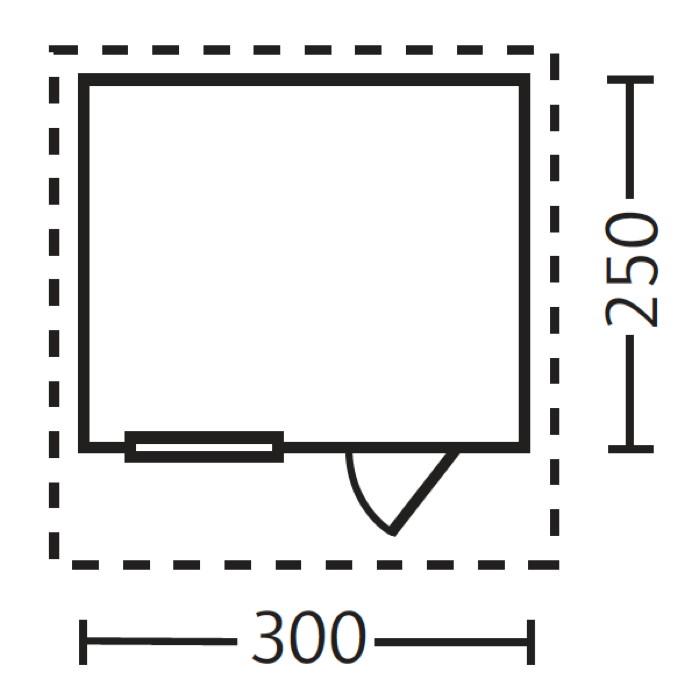 gartenhaus 250 x 300 my blog. Black Bedroom Furniture Sets. Home Design Ideas