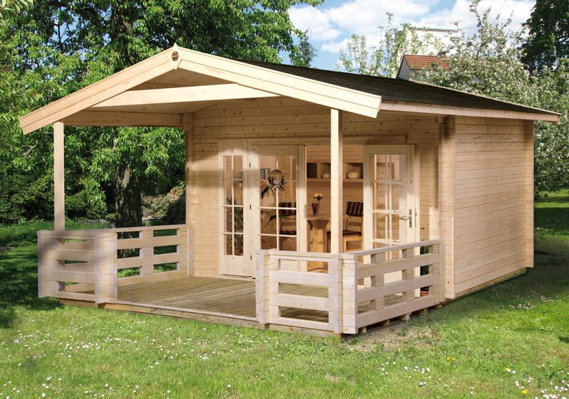 Erstaunlich Gartenhaus WEKA «Weekendhaus 137» Holz-Haus-Bausatz | Online Shop  YA25